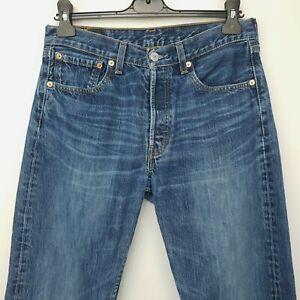 Levi's 501 Mens  Jeans W30 L32 Blue Regular Straight