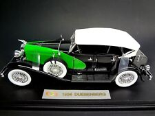 1934 Duesenberg SJ Phaeton 1:18 Signature Models - Auburn Cord Die Cast 1/18