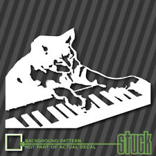 Keyboard Cat - vinyl decal sticker meme 4chan funny key board play them off jdm