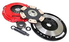 ULTIMATE STAGE 4 CLUTCH KIT+CHROMOLY FLYWHEEL HONDA PRELUDE/ACCORD 2.2L 2.3L