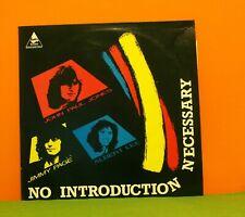 JIMMY PAGE / JOHN PAUL JONES / ALBERT LEE - NO INTRODUCTION EX VINYL LP RECORD