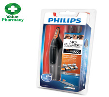PHILIPS NT3160 Nose Ear Eyebrow Hair Trimmer Shaver - Washable/No Pulling/No Cut
