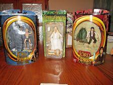 Lot Of Three (3) Lord Of The Rings Vinyl Dolls *Nip