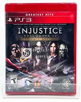 Injustice: Gods Among Us Ultimate Edition - PS3 - Brand New | Factory Sealed