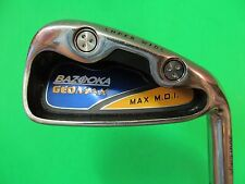 "38 1/2"" Bazooka Tour Edge Geomax #6 Iron. Stiff Flex Precision Steel Shaft."