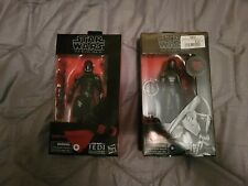 Black Series Star Wars - Second Sister and Purge Trooper