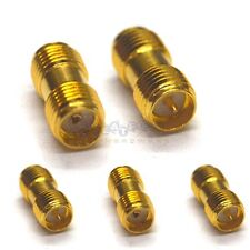 5pcs SMA female jack to SMA male jack Straight RF Connector Adapter