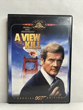 A View to a Kill (Special Edition, DVD, 1962) Roger Moore James Bond 007! Rare!
