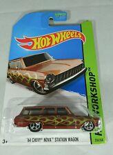 Hot Wheels HW Workshop '64 Chevy Nova Station Wagon #236