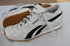 REEBOK SIZE 6 EUR 38 WHITE CLASSIC QUILTED LEATHER SNEAKERS SHOES NWOB