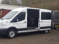 Minibus tourbus band van splitter van custom conversion Ford Transit crew cab