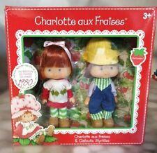 Poupée  Charlotte aux Fraises + myrtilles 14 cm Neuf en boite