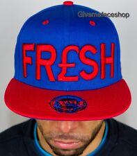 Fresh Snapback,Unisex VISIERA PIATTA Cappelli,Baseball CAPPELLINI HIP HOP REALE