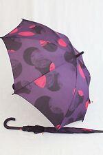 ESPRIT lila Regenschirm Stockschirm  Dots lila Öffnungsautomatik Damen