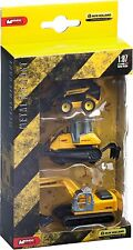 LOT 3 CAMION CONSTRUCTION NEW HOLLAND -PELLETEUSE-BULLDOZER-TRACTO PELLE-1/87 HO