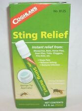 Coghlans First Aid Antiseptic Sting Relief Mosquitos Bees Flies Ticks Chiggers