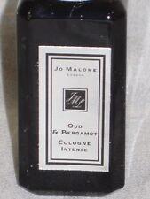 Jo Malone cologne 0.3oz/9ml OUD & BERGAMOT  Cologne INTENSE Spray, TRAVEL SIZE