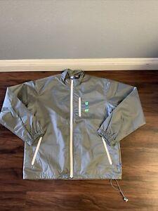 Undefeated Zip Jacket Gray Sz L