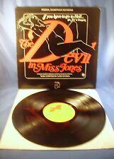 THE DEVIL IN MISS JONES Orig. Soundtrack Recording Janus 3059-1973 WOW! Rare LP