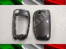 COVER CHIAVE GUSCIO AUDI NERA 3 TASTI SCOCCA RIGIDA A1 A3 A4 A6 Q7 Q5 TT