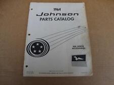 1964 Johnson Sea Horse Accessories outboard parts catalog 380183