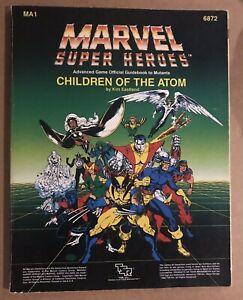 MA1 Children of the Atom - Marvel Super Heroes RPG - TSR 6872