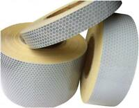 Hi Viz Intensity Grade White Reflective Tape 25mm x 2.5m