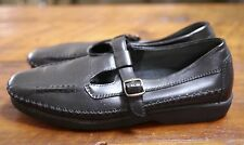 PROPET Black Leather Mary Jane Euro Comfort Walking Shoes Womens 7M 37.5 W3205