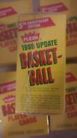5 Factory Sealed unopened untouched 1990-91 Fleer Update Basketball Set 5x