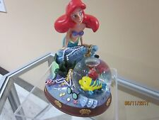 DISNEY'S LITTLE MERMAID ARIEL  SNOW GLOBE    NEW IN BOX