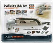 Oscillating Multi Tool Kit Sanding Scraping Grinding Cutting And Sawing