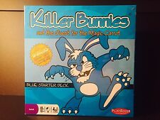 Killer Bunnies and the Quest for the Magic Carrot Blue Starter Deck New