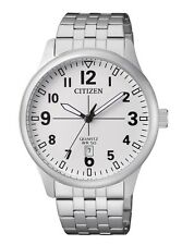 CITIZEN BI1050-81B Mens Watch WR50m Silver NEW in Box RRP $225.00