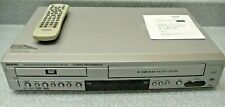 Sanyo DVW-7000 DVD Player VCR Combo 4 Head Hi-Fi Stereo w/Remote Manual on CD