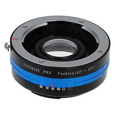Fotodiox objetivamente adaptador pro Yashica AF lente para Canon EOS EF-Mount DSLR Camera