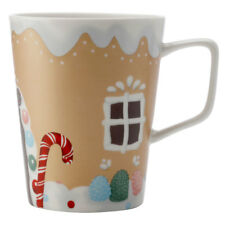 Maxwell & Williams 450ml Gingerbread House Mug/Cup/Glass for Hot Cold Coffee/Tea