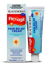 Blackmores FLEXAGIL Pain Relief Cream 100g *Plant Based Inflammation Joint Pain*