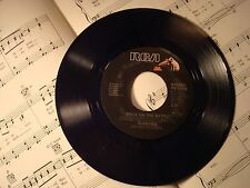 """Alabama -ROCK ON THE BAYOU/THERES A FIRE IN THE NIGHT 45rpm 7"""" record (LIKE NEW)"""