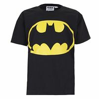 DC Comics Batman Logo Boy's Kids T-Shirt - Ages  3-12 YEARS