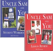 Notgrass - Uncle Sam and You Student Workbook AND Lesson Review Book  NEW