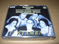 KLEMPERER / BEETHOVEN fidelio - 2 cd set - SEALED / NEW - uk -