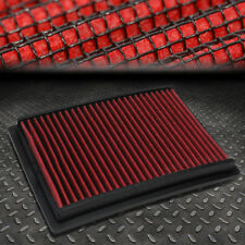 FOR 12-17 CHEVY SONIC T300 RED REUSABLE/DURABLE ENGINE AIR FILTER INTAKE PANEL