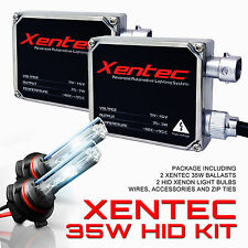 Xentec Xenon Headlight Fog Light HID Kit 32000LM 35W Metal Ballasts 9012 9006