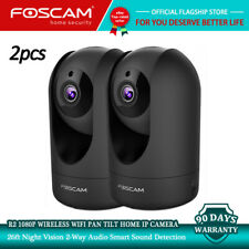 2pcs Refurbished Foscam R2 Wireless IP Camera Wifi 1080P Pan Tilt Two-way Audio