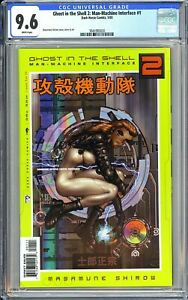 Ghost in the Shell 2: Man-Machine Interface #1 CGC 9.6 3941093020 Shirow