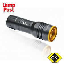 CK Tools T9510 - LED Hand Torch 120 Lumens - Powerful and Robust Quality Torch
