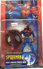 Spiderman Rocket Launching Spider-Man With Leap´ N Flip Action, Nueva