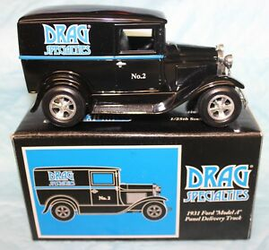 LIBERTY CLASSICS 1931 FORD MODEL A PANEL DRAG SPECIALTIES BANK IN BOX #3110