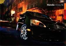 Advertising Postcard 2005 Honda Civic Si