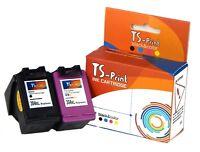 TS-Print Drucker Set Tinten-Patronen für HP 304-XL bk + c Deskjet 2600 2620 2621